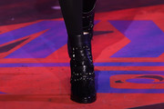 Hailey Baldwin Studded Boots