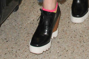 Elle Fanning Wedges