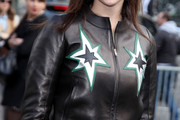 Julia Roitfeld Leather Jacket
