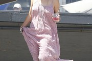 Kaley Cuoco Sundress