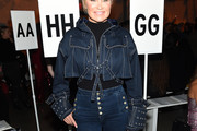 Yolanda Hadid Denim Jacket