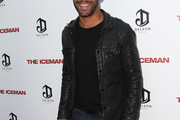 Amaury Nolasco Leather Jacket
