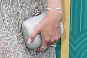 Ming-Na Wen Metallic Clutch