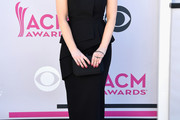 Kellie Pickler Off-the-Shoulder Dress