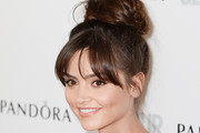 Jenna-Louise Coleman Twisted Bun