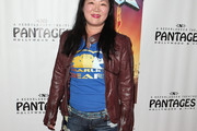 Margaret Cho Leather Jacket