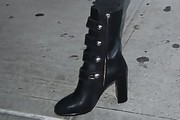 Kendall Jenner Studded Boots