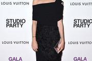 Emily Weiss Off-the-Shoulder Dress