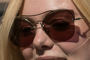 Elle Fanning Cateye Sunglasses
