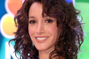 Jennifer Beals Medium Curls with Bangs
