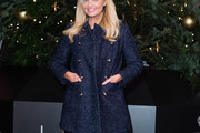 Emma Bunton Tweed Coat