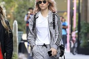 Suki Waterhouse Track Jacket