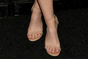Kaitlyn Dever Strappy Sandals