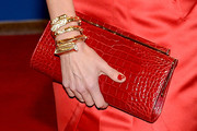 Diane Lane Leather Clutch