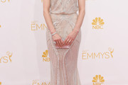 Taylor Schilling Beaded Dress