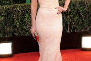 Megan Fox Strapless Dress
