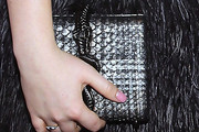 Poppy Jamie Metallic Clutch