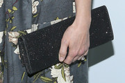 Amy Smart Suede Clutch