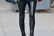 Nicky Hilton Leather Pants