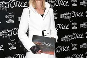 Joely Richardson Wool Coat