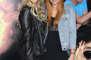 Leticia Cyrus Leather Jacket