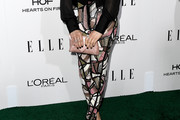 Brittany Snow Print Pants
