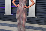 Stella Maxwell Fringed Dress
