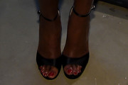 Mary J. Blige Evening Sandals