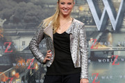 Nina Eichinger Sequined Jacket
