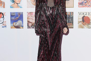 Demi Moore Sequin Dress
