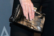 Jaime King Leather Clutch