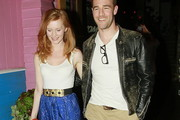 James Van Der Beek Leather Jacket