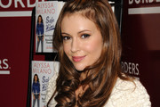 Alyssa Milano Long Partially Braided