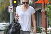 Amanda Seyfried V-Neck Tee