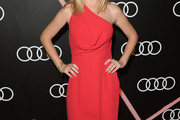 Angela Kinsey One Shoulder Dress