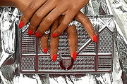 Damaris Lewis Metallic Clutch