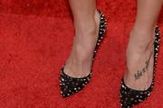 Ashley Greene Studded Heels