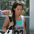 Ashley Tisdale Long Braided Hairstyle