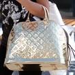 Ashley Tisdale Metallic Tote