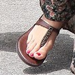 Ashley Tisdale Thong Sandals