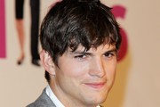 Ashton Kutcher Messy Cut