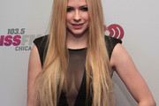 Avril Lavigne Long Straight Cut