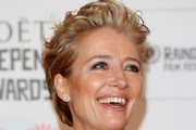 Emma Thompson Messy Cut