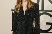 Hilary Swank Sequined Jacket