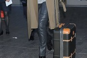Amal Clooney Leather Pants