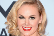 Laura Bell Bundy Side Swept Curls
