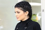 Kylie Jenner Long Braided Hairstyle