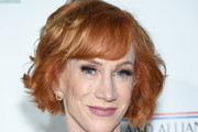 Kathy Griffin Short Wavy Cut