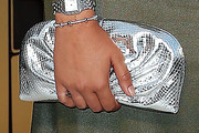 Courtney Eaton Metallic Clutch
