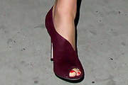 Bar Refaeli Peep Toe Pumps